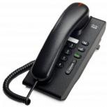 Cisco 6901Teléfono IP Estándar, 2x RJ-45, Color Carbón Vegetal