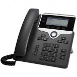 Cisco Teléfono IP con Pantalla 3.5'' 7821, Alámbrico, 2 Líneas, Altavoz, Negro/Plata