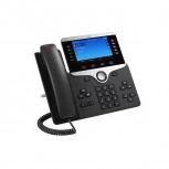 Cisco Teléfono IP con Pantalla 5'' 8861, Altavoz, Negro/Plata