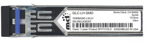 Cisco 1000BASE-LX/LH SFP Módulo Transceptor para MMF y SMF GLC-LH-SMD=, 10.000m, 1300nm, 1000 Mbit/s