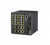 Switch Cisco Fast Ethernet IE-2000-16TC-G-N, 16 Puertos 10/100Mbps + 2 Puertos SFP, 8000 Entradas - Gestionado
