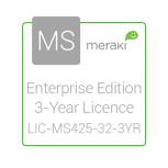 Cisco Meraki Licencia y Soporte Empresarial, 1 Licencia, 3 Años, para MS425-32