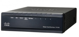 Router Cisco Ethernet RV042, Dual WAN VPN, 10/100 4 Puertos