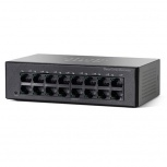 Switch Cisco Fast Ethernet SF110-16, 16 Puertos 10/100Mbps, 3.2 Gbit/s - No Administrable