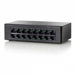Switch Cisco Fast Ethernet SF110D-16HP PoE, 16 Puertos 10/100Mbps, 3.2 Gbit/s, 8000 Entradas - No Administrable