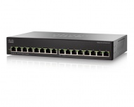 Switch Cisco Gigabit Ethernet SG110-16, 16 Puertos 10/100/1000Mbps, 32 Gbit/s, 8000 Entradas - No Administrable