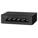 Switch Cisco Gigabit Ethernet SG110D-05, 5  Puertos 10/100/1000Mbps, 10 Gbit/s, 4000 Entradas - No Administrable