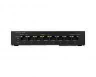 Switch Cisco Gigabit Ethernet SG110D-08HP PoE, 8 Puertos 10/100/1000Mbps, 16 Gbit/s, 4000 Entradas - No Administrable