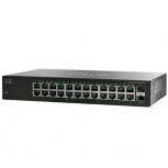 Switch Cisco Gigabit Ethernet SG112-24, 24 Puertos 10/100/1000Mbps + 2 Puertos SFP, 48 Gbit/s, 8000 Entradas - No Administrable