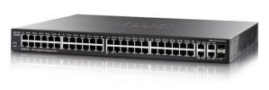 Switch Cisco Gigabit Ethernet SG350-52MP, 48 Puertos 10/100/1000Mbps + 2 Puertos SFP, 104 Gbit/s, 16.384 Entradas - Gestionado