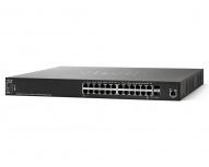 Switch Cisco Gigabit Ethernet Small Business SG350XG-24T, 24 Puertos 10/100/1000Mbps + 2 Puertos SFP+, 480 Gbit/s, 64.000 Entradas - Gestionado