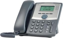 Cisco Teléfono IP de 3 Líneas SPA303, 2x RJ-45