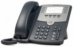 Cisco Teléfono IP de 8 Líneas SPA501G, PoE y PC, 2x RJ-45, Negro