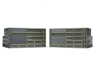 Switch Cisco Fast Ethernet Catalyst 2960-Plus, 24 Puertos 10/100 + 2 Puertos SFP - Gestionado