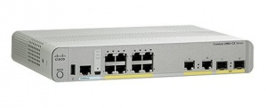Switch Cisco Gigabit Ethernet Catalyst 2960-CX, 8 Puertos 10/100/1000Mbps + 2 Puertos SFP, 12 Gbit/s - No Administrable