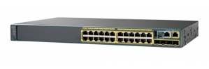 Switch Cisco Gigabit Ethernet Catalyst 2960-X, 10/100/1000Mbps + 4 Puertos SFP, 216 Gbit/s, 24 Puertos - Gestionado