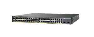Switch Cisco Gigabit Ethernet Catalyst 2960-XR PoE 370W, 48 Puertos 10/100/1000Mbps + 2 Puertos SFP+, 216 Gbit/s - Gestionado