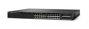 Cisco Gigabit Ethernet Switch Catalyst 3650-24TD-S, 24 Puertos 10/100/1000 Mbps + 2 Puertos SFP, 88 Gbit/s, 32000 Entradas - Gestionado