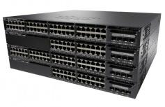 Switch Cisco Gigabit Ethernet Catalyst 3650 Base IP, 48 Puertos 10/100/1000Mbps + 2 Puertos SFP+, 176 Gbit/s, 32.000 Entradas - Gestionado