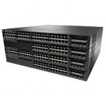 Switch Cisco Gigabit Ethernet Catalyst 3650 PoE 4x1G Uplink LAN Base, 48 Puertos 10/100/1000Mbps + 4 Puertos SFP, 176 Gbit/s, 32.000 Entradas - Gestionado