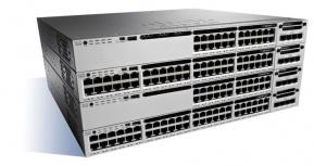 Switch Cisco Gigabit Ethernet Catalyst WS-C3850-24XS-E, 24 Puertos SFP+, 92 Gbit/s, 32.000 Entradas - Gestionado
