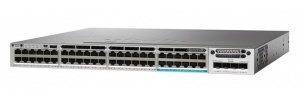 Switch Cisco Gigabit Ethernet Catalyst 3850 UPoE IP Base, 48 Puertos 10/100/1000Mbps - Gestionado