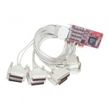 Comtrol Tarjeta PCI Express RocketPort, Alámbrico, 8 Puertos RS-232