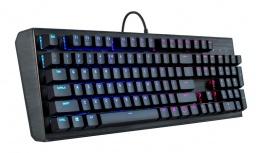 Teclado Gamer Cooler Master CK552 RGB, Teclado Mecánico, Gateron Red, Alámbrico, Negro (Inglés)