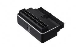 Cooler Master Adaptador ATX 24-Pin Macho - ATX 24-Pin Hembra, Negro