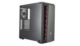 Gabinete Cooler Master MasterBox MB510L con Ventana, Midi-Tower, ATX/Micro-ATX/Mini-ITX, USB 3.1, sin Fuente, Negro/Rojo