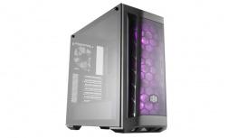 Gabinete Cooler Master MasterBox MB511 RGB con Ventana, Midi-Tower, ATX/Micro-ATX/Mini-ITX, USB 3.1, sin Fuente, Negro