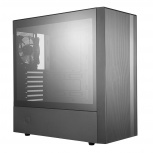 Gabinete Cooler Master MasterBox NR600 con Ventana, Midi-Tower, ATX/Micro ATX/Mini-ITX, USB 3.1, sin Fuente, Negro