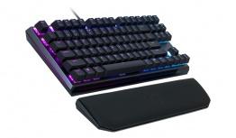 Teclado Gamer Cooler Master MK730 RGB, Teclado Mecánico, Cherry MX Blue, Alámbrico, Negro (Inglés)