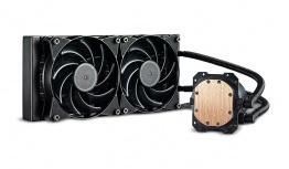 Cooler Master MasterLiquid Lite 240 Enfriamiento Liquido para CPU, 2x 120mm, 650-2000 RPM