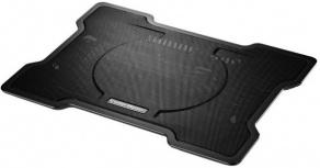 Cooler Master NotePal X-Slim para Laptops 7-17'', con 1 Ventilador de 1400RPM, Negro