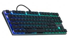 Teclado Gamer Cooler Master SK630 RGB, Teclado Mecánico, Cherry MX RGB, Alámbrico, Negro (Inglés)