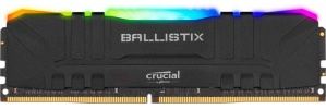 Kit Memoria RAM Crucial Ballistix RGB DDR4, 3200MHz, 16GB (2 x 8GB), Non-ECC, CL16, XMP, 1.35V