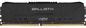 Kit Memoria RAM Crucial Ballistix Black DDR4, 3600MHz, 16GB (2 x 8GB), Non-ECC, CL16, XMP, 1.35V
