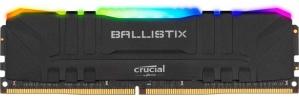Kit Memoria RAM Crucial Ballistix RGB DDR4, 3600MHz, 16GB (2 x 8GB), Non-ECC, CL16, XMP, 1.35V