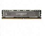 Memoria RAM Crucial Ballistix Sport LT Gray DDR4, 2666MHz, 4GB, Non-ECC, CL16, XMP