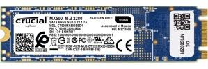SSD Crucial MX500, 500GB, M.2, SATA, M.2