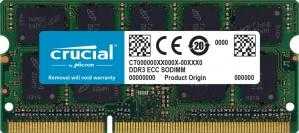 Memoria RAM Crucial DDR3, 1600MHz, 8GB, Non-ECC, CL11, SO-DIMM, 1.35V