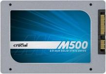 SSD Crucial M500, 960GB, SATA III, 2.5