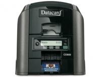 DataCard CD800 Impresora de Credenciales, Sublimación de Tinta, 300 x 1200 DPI, 1 Cara, USB, Ethernet, Negro