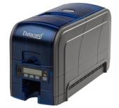 DataCard SD160 Impresora de Credenciales, Sublimación de Tinta, USB, Negro/Azul
