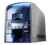 DataCard SD260 Impresora de Credenciales, Sublimación, 1 Cara, 300DPI, USB, Azul/Gris