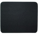 Mousepad BRobotix Liso, 22x17.5cm, Grosor 3mm, Negro - Paquete de 10 Piezas