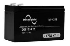 DataShield Batería de Reemplazo para UPS MI4218, 12V, 7.2Ah, para Series BS/BNT, KS/KIN, UT, VGD
