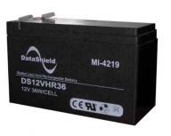 DataShield Batería de Reemplazo para UPS MI-4219, 12V, 9Ah, para Series BS/BNT, KS/KIN, UT, VGD