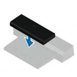 Dell Latitude E-Docking Spacer 7000 series, Negro